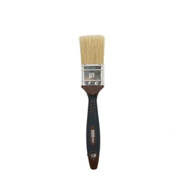 HausHalt Flat Brush RJ3348 Mixed Black/Brown 38mm