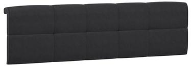 Black Red White Tetrix Headboard Upholstered Cover 160 Black