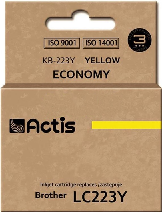 Actis Cartridge For Brother KB-223 Yellow