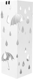 Подставка для зонтов Songmics Rain, белый, 155x155x490 мм