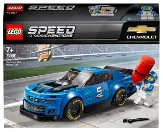 Konstruktors LEGO® Speed Champions Chevrolet Camaro ZL1 sacīkšu automašīna 75891, 198 gab.
