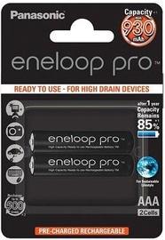 Uzlādējamais elements Panasonic Eneloop Pro Rechargeable Battery 2x AAA 930mAh