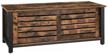 ТВ стол Songmics Industrial Brown, 1100x400x450 мм