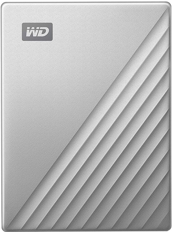 Western Digital My Passport Ultra for Mac USB-C 4TB Silver