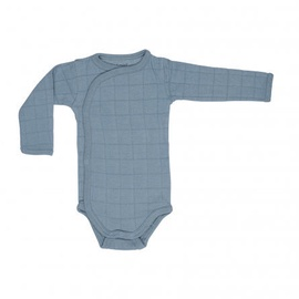 Lodger Romper Solid Body With Long Sleeves Ocean 74cm