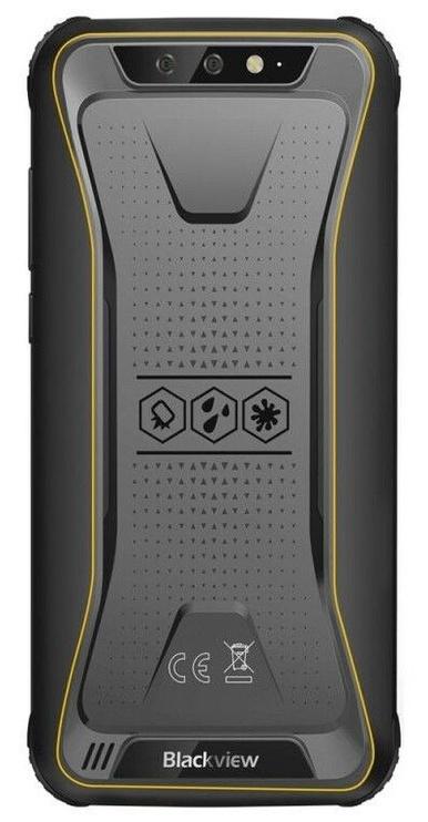 Mobilais telefons Blackview BV5500, dzeltena, 2GB/16GB