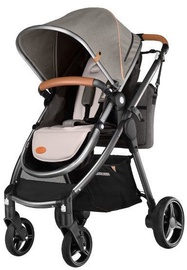 Lionelo Greet Stroller Beige/Brown/Black