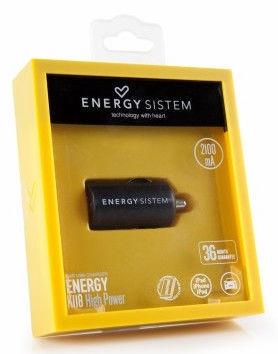 Energy Sistem 382606 Mobile USB Car Charger 2.1A
