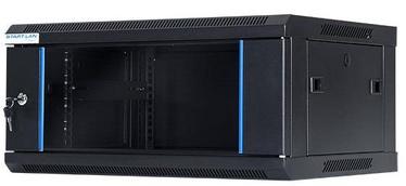 Digitalbox START.LAN Wall Cabinet 19'' 4U/450mm Glass Black