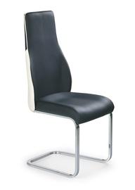 Ēdamistabas krēsls Halmar K-141 Black/White
