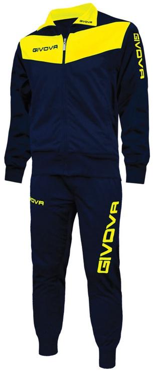 Givova Visa Navy Yellow XS
