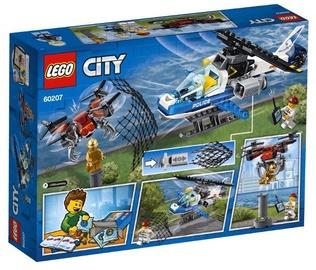 Конструктор LEGO® City 60207 Воздушная полиция: погоня дронов
