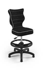 Bērnu krēsls Entelo Petit VS01, melna, 350 mm x 950 mm