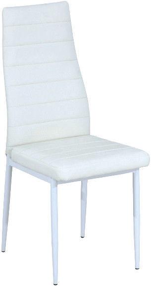 Ēdamistabas krēsls Signal Meble H261 White/White, 1 gab.