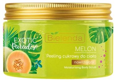 Ķermeņa skrubis Bielenda Exotic Paradise Sugar Scrub Melon, 350 ml
