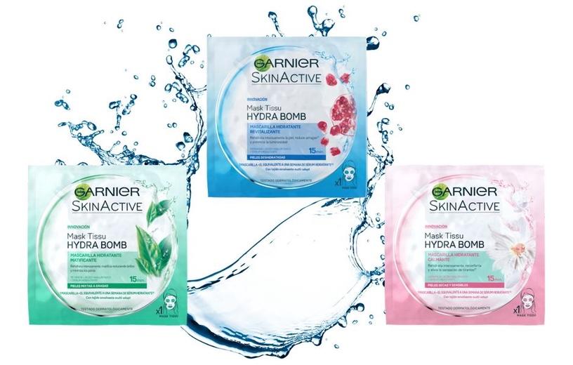 Sejas maska Garnier Skin Naturals Moisture + Comfort Tissue Mask, 32 g