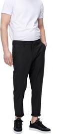 Audimas Stretch Fabric Crop Pants Black 176/54