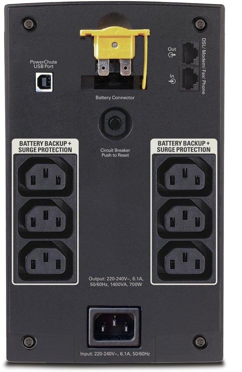 UPS sprieguma stabilizators APC Back-UPS 1400VA