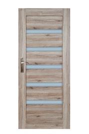 Durvju vērtne Everhouse Turyn 5/5 84,4x203,5cm, sanremo ozols, kreisās puses