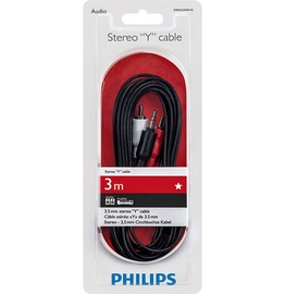 Провод Philips SWA2520W/10, 3.5 mm / RCA male x 2, 3 м