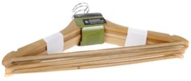 Home4you Wooden Hanger Set 5pcs Light