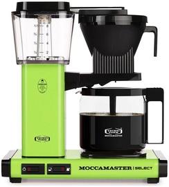 Kapsulas kafijas automāts Moccamaster KBG 741, melna/zaļa