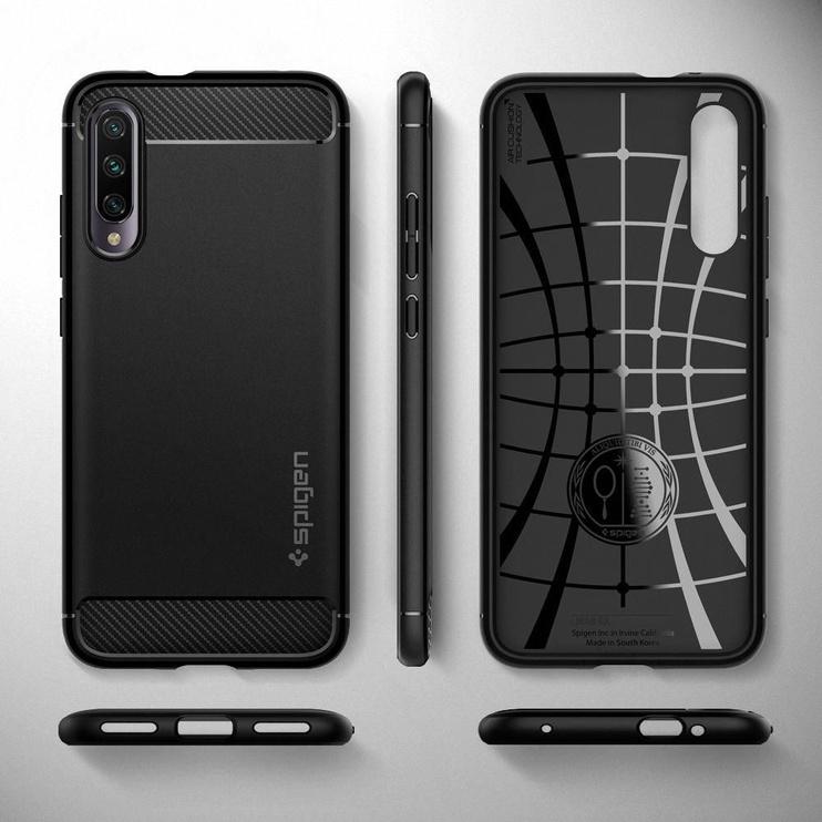 Spigen Rugged Armor Back Case For Xiaomi Mi A3 Black