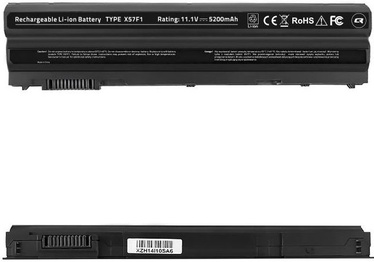 Аккумулятор для ноутбука Qoltec Long Life Notebook Battery For Dell E6420 5200mAh