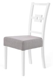 Halmar Stan Chair White Grey