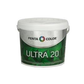 Krāsa Pentacolor Ultra 20 Dispersion Emulsion Paint White 5l