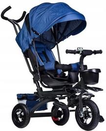 Трехколесный велосипед EcoToys Tricycle Trolley Pusher Blue