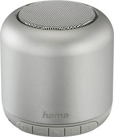 Bezvadu skaļrunis Hama Steel Drum Silver, 3 W