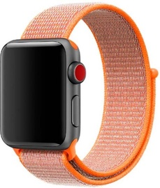 Siksna Devia Deluxe Series Sport3 Band For Apple Watch 44mm Nectarine