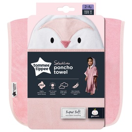 Dvielis Tommee Tippee Splashtime Poncho CGA1001 Pink, 22.5x24.5 cm, 1 gab.