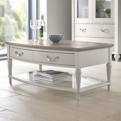 MN Montreux 6290-05-0 Coffee Table White