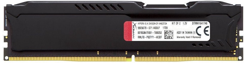 Kingston HyperX Fury Black 8GB 2666MHz DDR4 CL16 DIMM HX426C16FB2/8