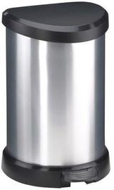 Мусорное ведро Curver Deco Silver, 20 л