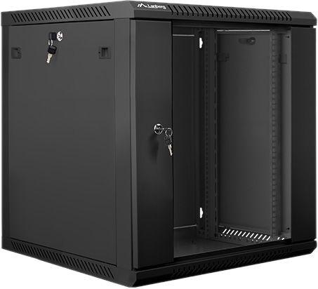 Lanberg WF01-6612-10B Demounted Flat Pack Cabinet
