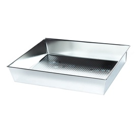 SNB Textured Baking Form 35x28x6cm Silver