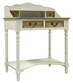 Home4you Samira Dressing Table White/Brown