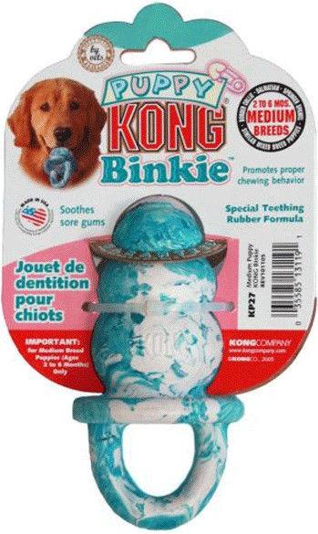 Kong Puppy Binkie Medium Blue