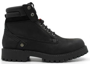 Wrangler Yuma Creek Fur Leather Winter Boots Black 45