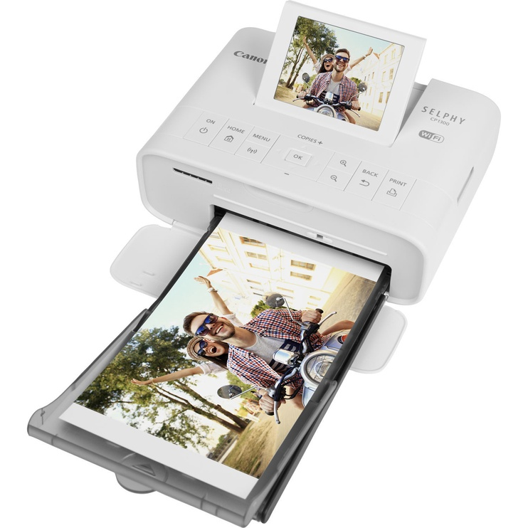 Daudzfunkciju printeris Canon Selphy CP1300, tintes, krāsains