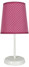Candellux Gala 41-98279 40W E14 Table Lamp Fuchsia Dotted