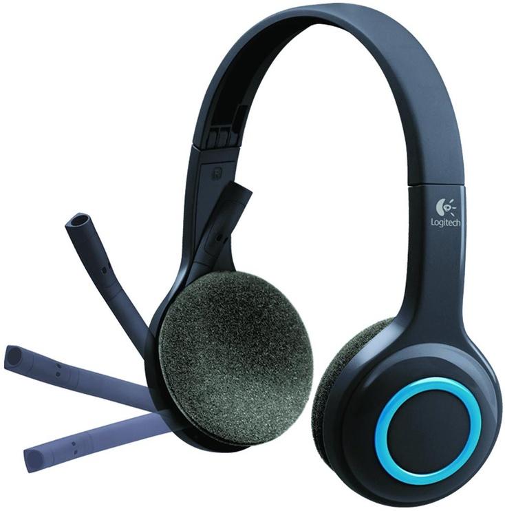 Беспроводные наушники Logitech H600, синий/черный