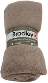 Bradley Plaid Fleece 180x200cm Beige