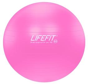 Vingrošanas bumbas Lifefit Gymnastic Ball Anti-Burst 65cm Pink