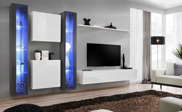ASM Switch XVI Wall Unit White/Graphite