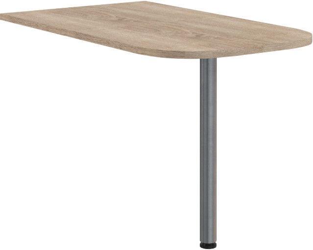 Skyland Offix New OB 127 Table Briefing 120x25x70cm Sonoma Oak