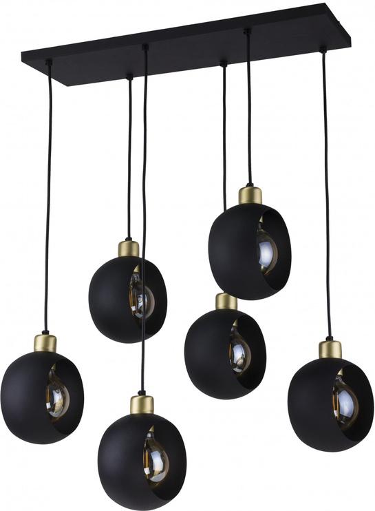 Lampa TK Lighting Cyklop Black 2756, 60 W, 6 gab.